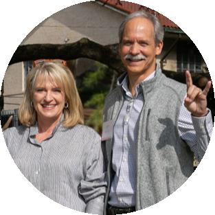 Leslie and John David Moritz